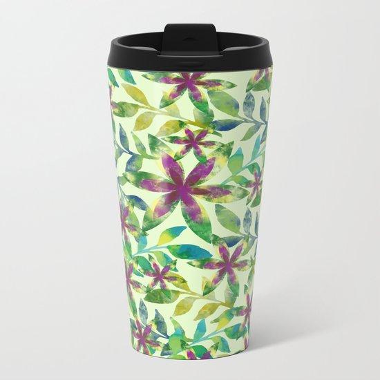 Pattern 50 Metal Travel Mug