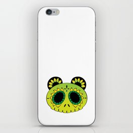 Dia de los verdes iPhone Skin