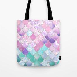 Mermaid Sweet Dreams, Pastel, Pink, Purple, Teal Tote Bag