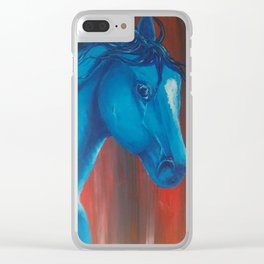 Beautifully blue Clear iPhone Case
