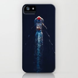 Harbour Life From Above   Aerial Photography iPhone Case