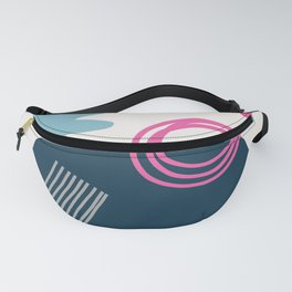 Summer Swimming Abstract Fanny Pack