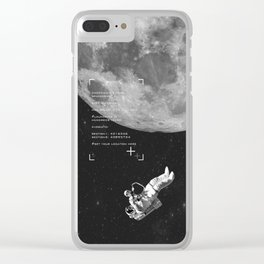Set your location Clear iPhone Case