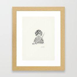Sikh Warrior Framed Art Print