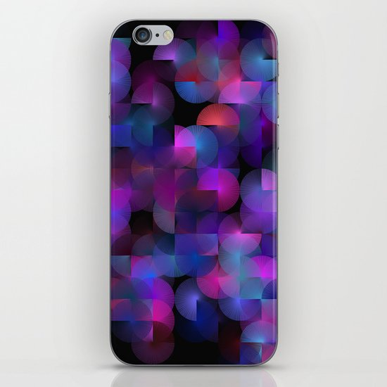 Written Circles #3 society6 custom generation iPhone & iPod Skin