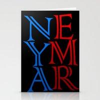 neymar Stationery Cards featuring Neymar by Sport_Designs