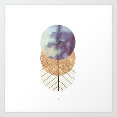 Under The Moon Art Print