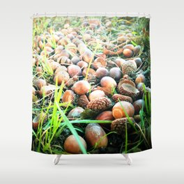 Don't go nuts! Shower Curtain