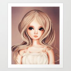 Doll-like Art Print