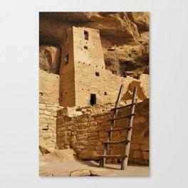Cliff Palace Tower at Mesa Verde NHS Canvas Print