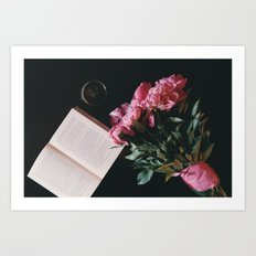 Romantic Propose  Art Print