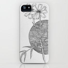 Coreopsis Lanceolata iPhone Case