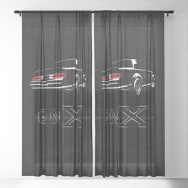 GNX Sheer Curtain