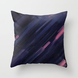 Glitched v.8 Throw Pillow