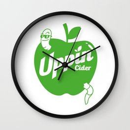 Uppin Cider Wall Clock
