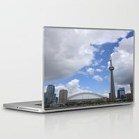 toronto Laptop & iPad Skins featuring Toronto by Rose&BumbleBee