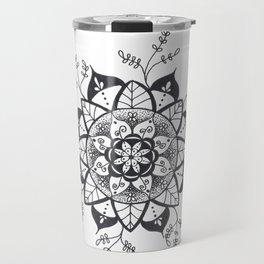Mandala in Nature Travel Mug