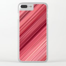 Ambient 33 in Red Clear iPhone Case