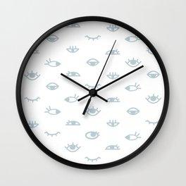eyes pattern Wall Clock