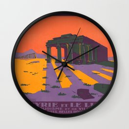 Vintage poster - Syria Wall Clock