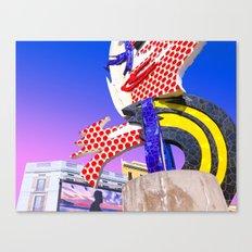 Hello Colors Canvas Print