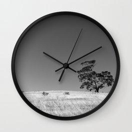 Tree on The Hill Wall Clock