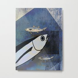 Tuna Fish and Others Metal Print