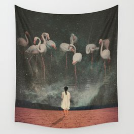Hanging on to a Dream Wall Tapestry