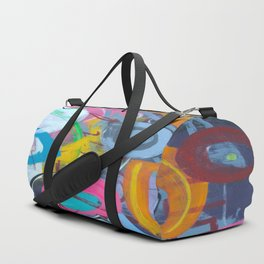 A Colorful Nightmare Duffle Bag