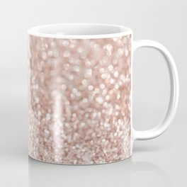 Sparkling Rose Gold Blush Glitter #2 #shiny #decor #art #society6 Coffee Mug