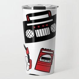 80's Music Travel Mug