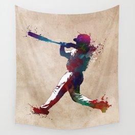 Baseball player 10 #baseball #sport Wall Tapestry