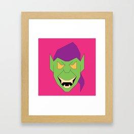 Green.Goblin Framed Art Print
