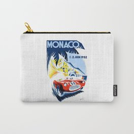 1952 Monaco Grand Prix Race Poster  Carry-All Pouch