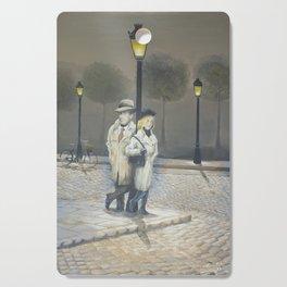 Midnight in Paris Cutting Board