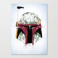 boba Canvas Prints featuring Boba by Purple Cactus