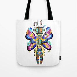 Kachina Butterfly 4 Tote Bag