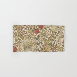 William Morris Golden Lily John Henry Dearle Hand & Bath Towel