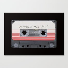 Awesome Mix Vol.2 Canvas Print