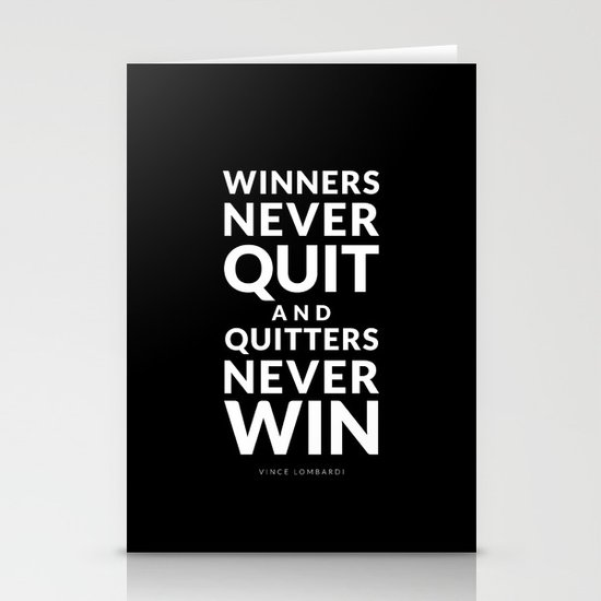 Winners Stationery Cards