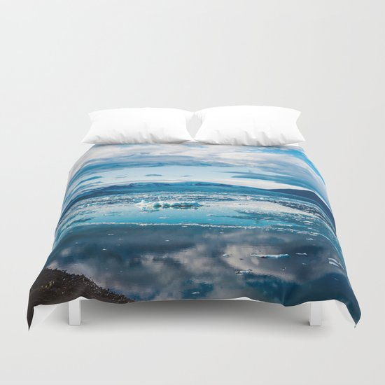 Cold Winds Duvet Cover