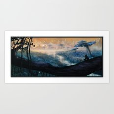 Plavim Forest Art Print