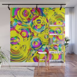 Abstract HJ Wall Mural