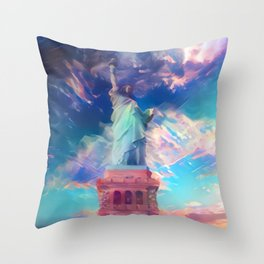 Welcome To The Bright Side Throw Pillow