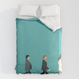 The tiny Abbey Road Duvet Cover