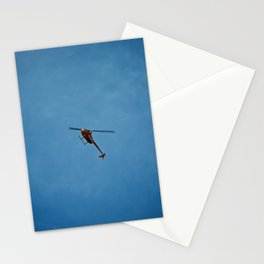 Cross Helicopter Stationery Cards
