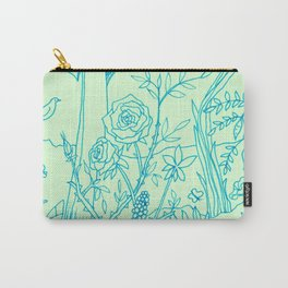 Garden in Green Carry-All Pouch
