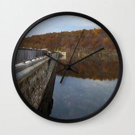 Reflecting Clouds Wall Clock