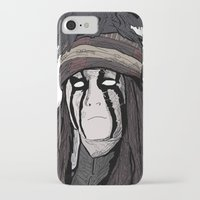 johnny depp iPhone & iPod Cases featuring Lone Ranger Johnny Depp by  Steve Wade ( Swade)