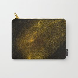 Abstract yellow glowing particles Carry-All Pouch